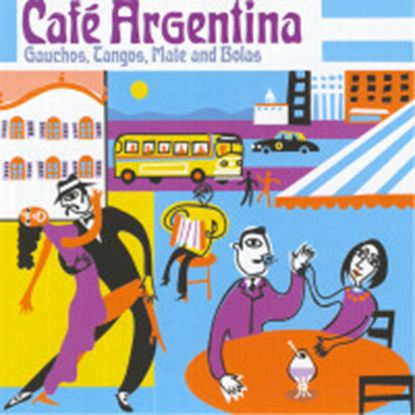 Picture of Cafe Argentina - Contemporary & Classic Tangos (CD)
