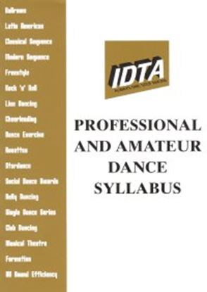 Picture of Professional & Amateur  Dance Syllabus 2006