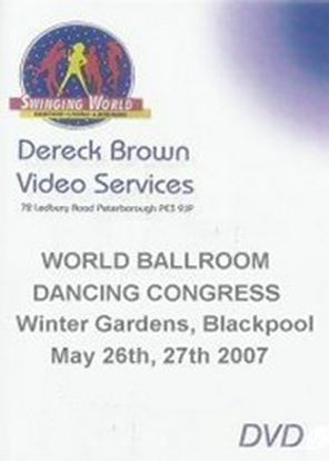 Picture of World Ballroom Dancing Congress 2007 (4 DVD)
