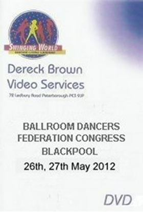 Picture of Ballroom Dancers Federation Int'l Congress 2012 (4 DVD)